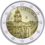 Lituanie - 2 Euro 2017 - La ville de Vilnius