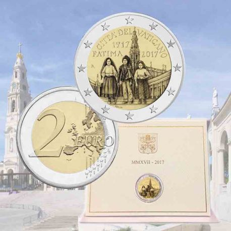 Vatican - 2 Euro 2017 Blister - Apparition de Fatima