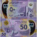 Banknote Sammlung Mauretanien - PK Nr. 999 - 50 Quguiya