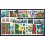 Liechtenstein Année 1989 complète en timbres neufs