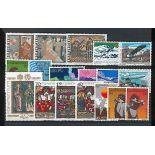 Liechtenstein Année 1979 complète en timbres neufs