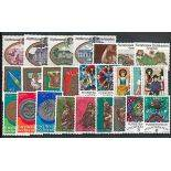 Liechtenstein Jahr 1977 vervollständigt in neuen Briefmarken