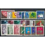 Liechtenstein Année 1975 complète en timbres neufs