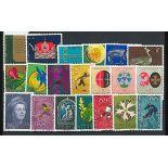 Liechtenstein Année 1971 complète en timbres neufs