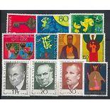 Liechtenstein Année 1968 complète en timbres neufs
