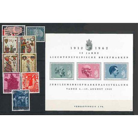 Liechtenstein 1962