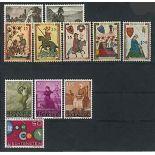 Liechtenstein Année 1961 complète en timbres neufs