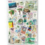 Sammlung gestempelter Briefmarken Lateinamerika