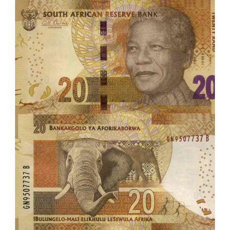 Billets de collection Billet de banque collection Afrique Du Sud - PK N° 139 - 20 Rand Billets d'Afrique du Sud 6,00 €