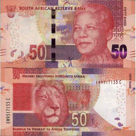 Billets de collection Billet de banque collection Afrique Du Sud - PK N° 140 - 50 Rand Billets d'Afrique du Sud 13,00 €