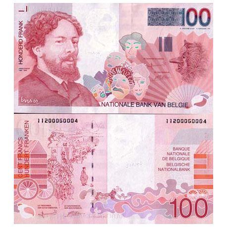 Billet de banque collection Belgique - PK N° 147 - 100 Francs