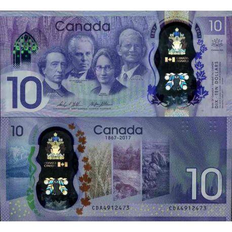 Billet de banque collection Canada - PK N° 999 - 10 Dollar