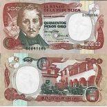Biglietto di banca raccolta Colombia - PK N° 431 - 500 Pesos