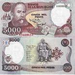 Biglietto di banca raccolta Colombia - PK N° 440 - 5000 Pesos