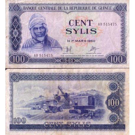 Billets de collection Billet de banque collection Guinee Française - PK N° 26 - 100 Sylis Billets de Guinée Française 17,00 €