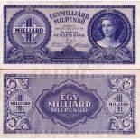 Banknote Hungary collection - PK N° 131 - 1 Billion Pengo