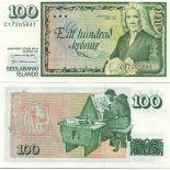 Billet de banque collection Islande - PK N° 54 - 100 Kronur
