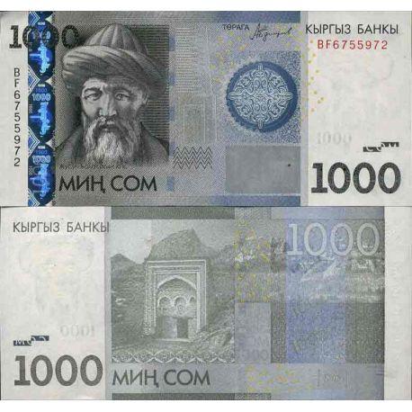 Billet de banque collection Kirghizstan - PK N° 999 - 1000 Som