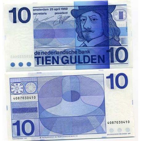 Billet de banque collection Pays bas - PK N° 91 - 10 Gulden
