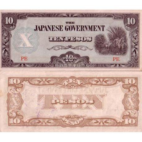 Billets de collection Billet de banque collection Philippines - PK N° 108 - 10 Pesos Billets des Philippines 3,50 €