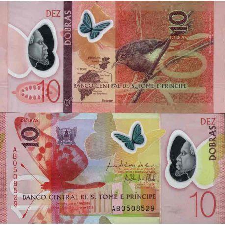 Billet de banque collection Saint Thomas et Prince - PK N° 999 - 10 Dobras