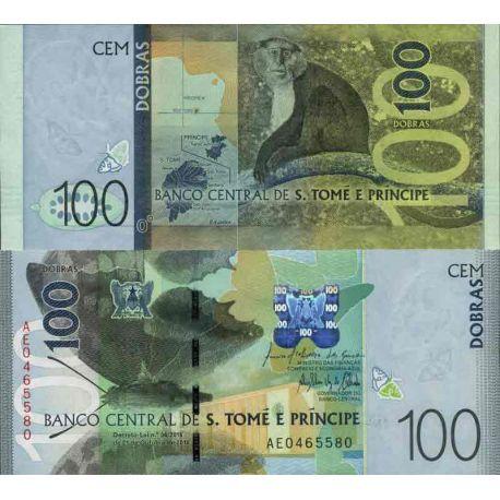 Billet de banque collection Saint Thomas et Prince - PK N° 999 - 100 Dobras
