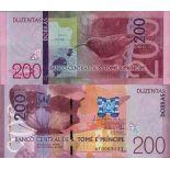 Billet de banque collection Saint Thomas et Prince - PK N° 999 - 200 Dobras