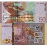 Billet de banque collection Saint Thomas et Prince - PK N° 999 - 50 Dobras