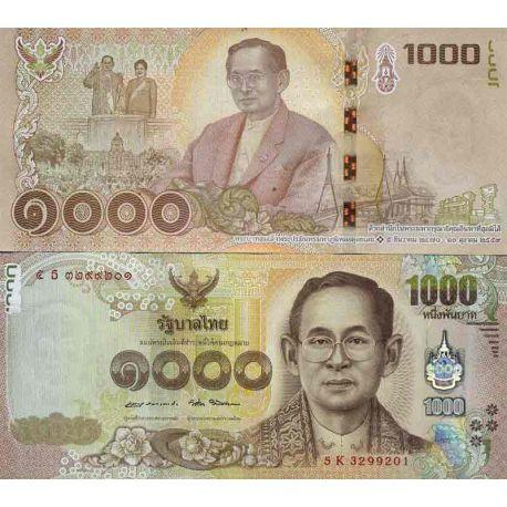 Banknote Thailand Collection Pk N 134 1000 Baht La Maison