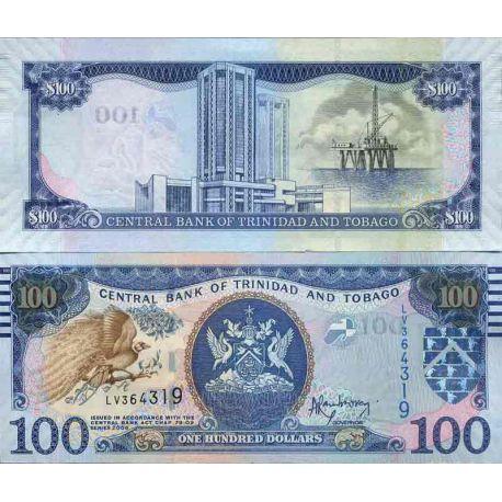 Billet de banque collection Trinite et Tobago - PK N° 999 - 100 Dollars