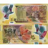 Billet de banque collection Trinite et Tobago - PK N° 59 - 50 Dollars