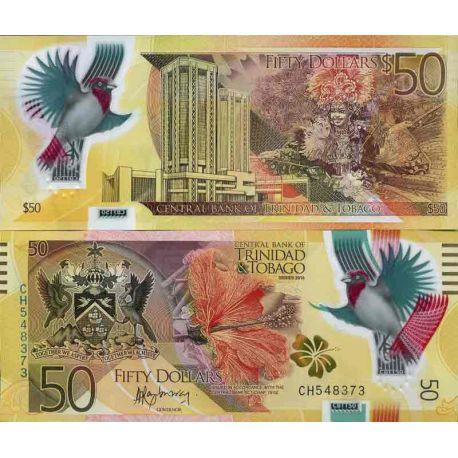 Billet de banque collection Trinite et Tobago - PK N° 999 - 50 Dollars