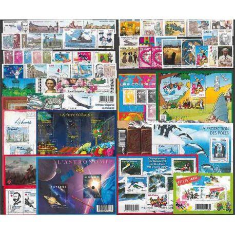 France Année 2009 Complète timbres neufs