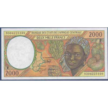 Banknote collection Cameroon - Pk N° 203E - 2000 Franc