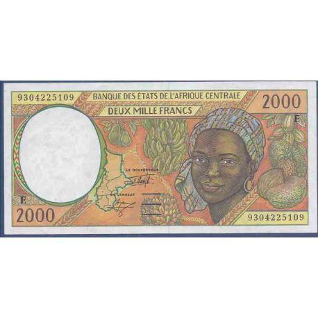 Colección el Camerún - PK N° 203E del billete de banco - 2000 francos