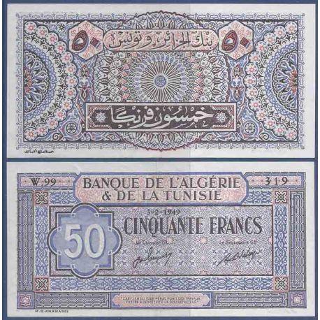 Billets de collection Billet de banque collection Tunisie - PK N° 23 - 50 Francs Billets de Tunisie 120,00 €