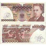 Billet de banque collection Pologne - PK N° 157 - 1000000 Zlotych