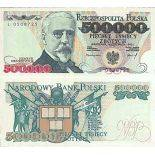 Billet de banque collection Pologne - PK N° 161 - 500000 Zlotych