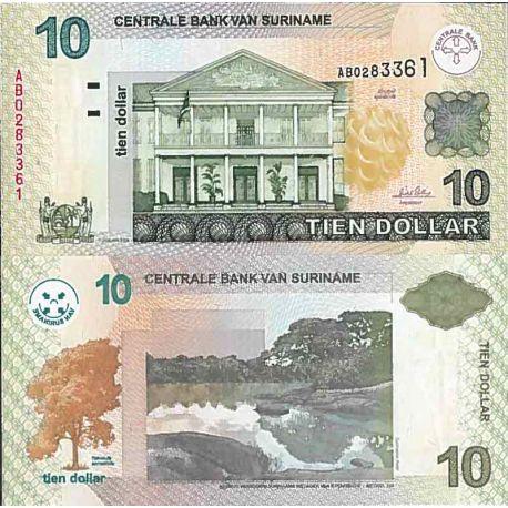 Billet de banque collection Surinam - PK N° 158 - 2,5 Gulden