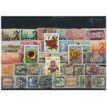 Collection de timbres Libye Italienne oblitérés