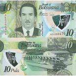 Billet de banque collection Botswana - PK N° 999 - 10 Pula