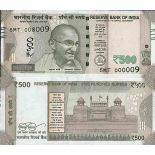 Billet de banque collection Inde - PK N° 114 - 500 Rupee