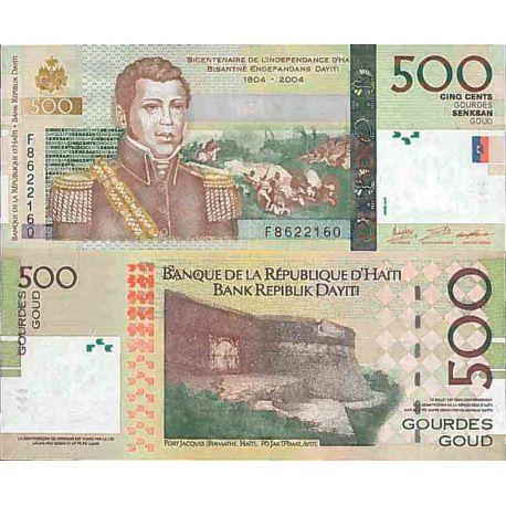 Biglietto di banca raccolta Haiti - PK N° 277 - 500 stupido