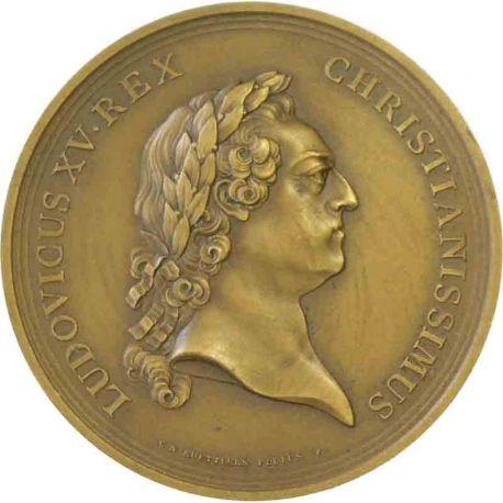 Médaille Construction de l'Hôtel des monnaies
