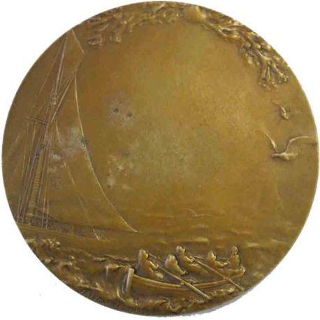 Médaille de récompense en bronze