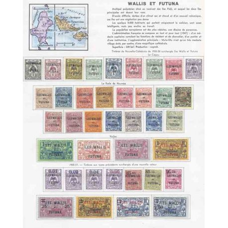Colección de sellos de Zanzibar Nuevo con bisagra