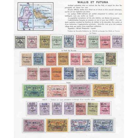 Collezione di francobolli di Zanzibar Neufs con cerniera