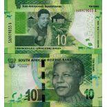 Banknote Sammlung Südafrika - PK Nr. 999 - 10 Rand
