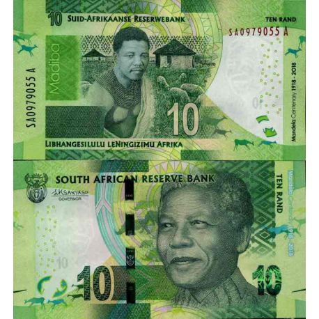 Billet de banque collection Afrique Du Sud - PK N° 999 - 10 Rand