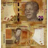 Banknote Sammlung Südafrika - PK Nr. 999 - 20 Rand